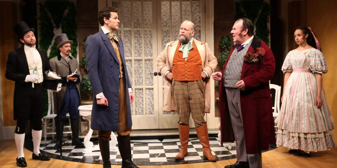 First Look: LONDON ASSURANCE Production Photos